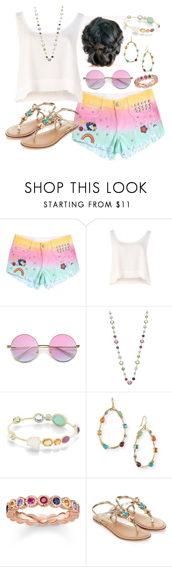 """""""#4"""" by moon-crystal-wolff ❤ liked on Polyvore featuring MINKPINK, Ippolita, Thomas Sabo and Monsoon"""