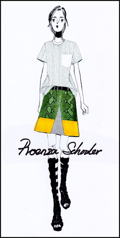 Proenza Schouler   2013 S/S
