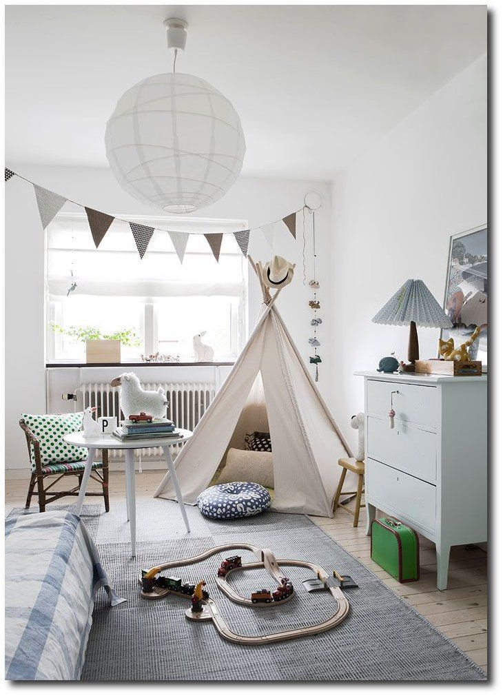 Nordic Style Kids Rooms