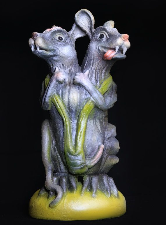 Very Nice Ceramic Sculpture. Pop Surrealism. by KMcGiveronCeramics