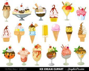 Clipart bitterkoekjes illustraties Dessert-feest door wonderdigi