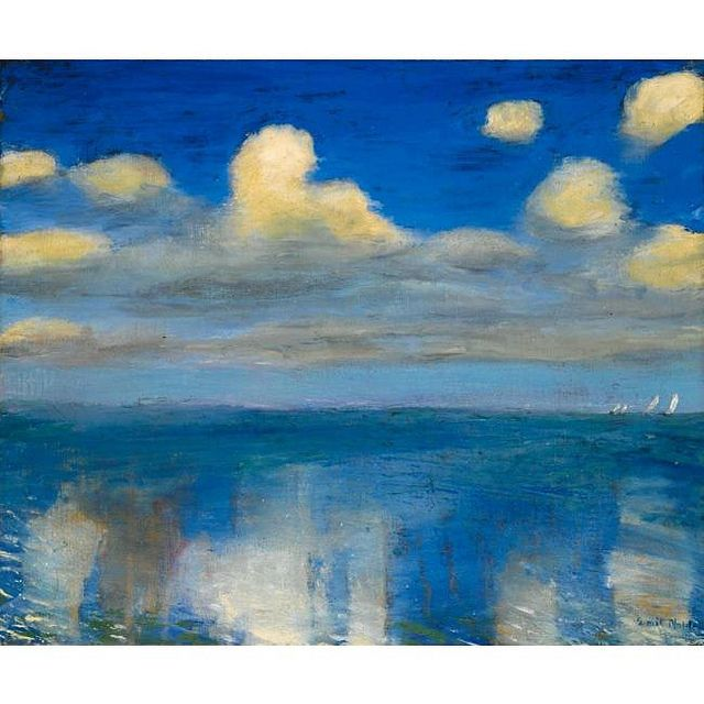 """Emil Nolde 1936 """"Stilles Meer"""""""