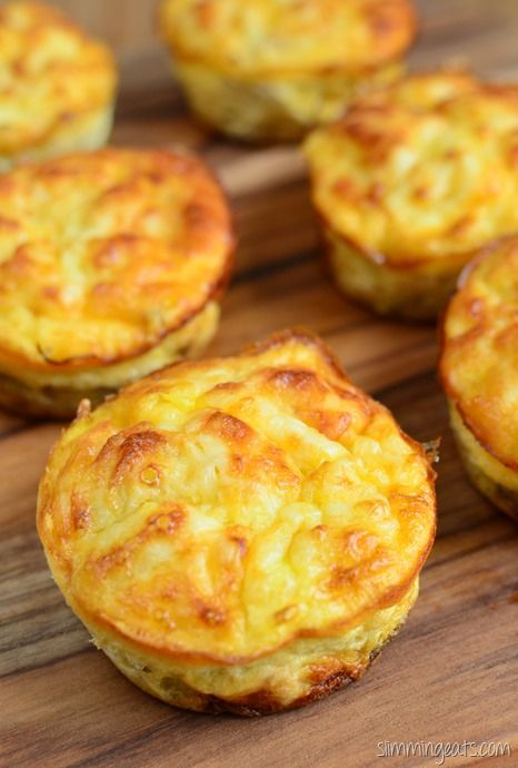 Slimming Eats Tuna and Sweet Corn Mini Quiches - gluten free, Slimming World and…