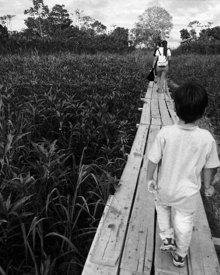 Él es el camino. #Amazonas #Colombia