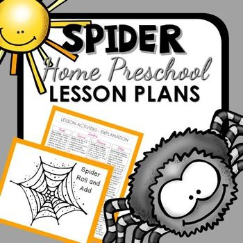 Spiders don't have to be scary! Learn some facts about real spiders and use toy spiders to learn math and literacy concepts in this full lesson plan pack for home preschool. This pack includes sensory play, pretend play, science activities, math games, and printable resources for