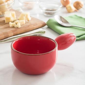 KSP Tuscana Onion Soup Bowl (Red)