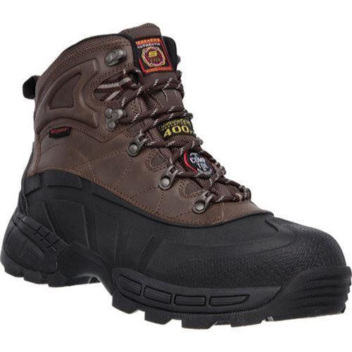 Men's Skechers Work Radford WP Comp Toe Ankle Boot /Brown