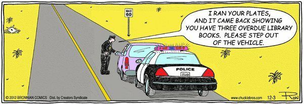 Mystery Fanfare: Cartoon of the Day: Cops