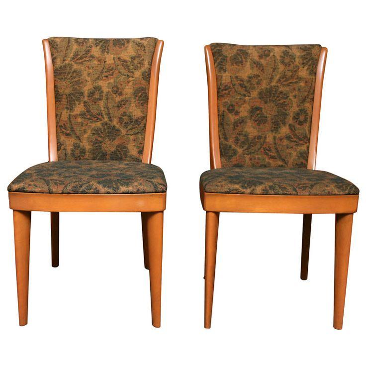 1stdibscom four elegant heywood wakefield modern dining chairs