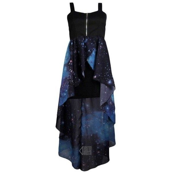 Dress: galaxy blue zip up black corset wannabe prom homecoming casual ❤ liked on Polyvore featuring dresses, black corset, zip up dress, black dress, corset prom dresses and black corset dress
