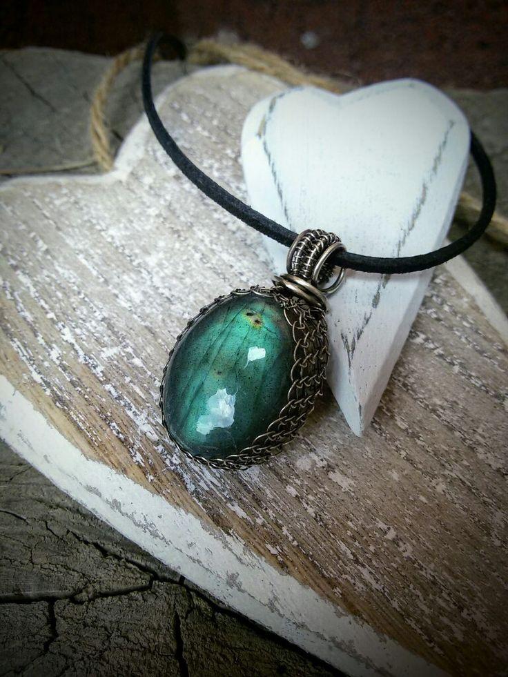 Labradorite silver nacklace