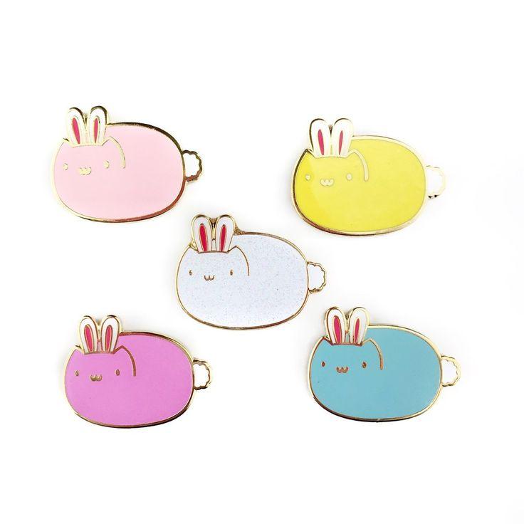 Jelly Bean Kitten Enamel Lapel Pin • Blind Bag!