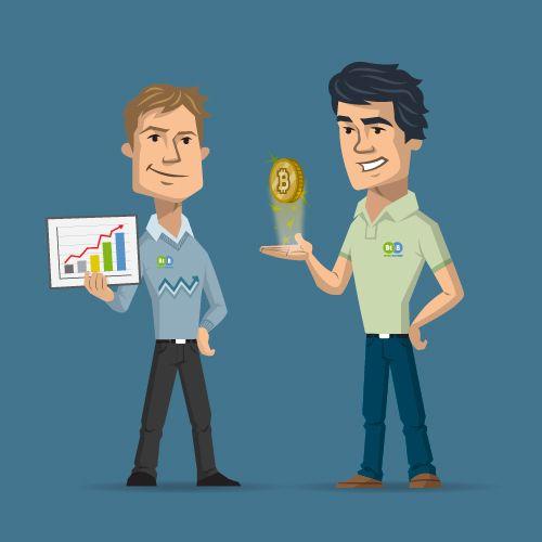 Conocé el trabajo de ilustración de personajes que realizamos para la empresa Bitcoin Brothers