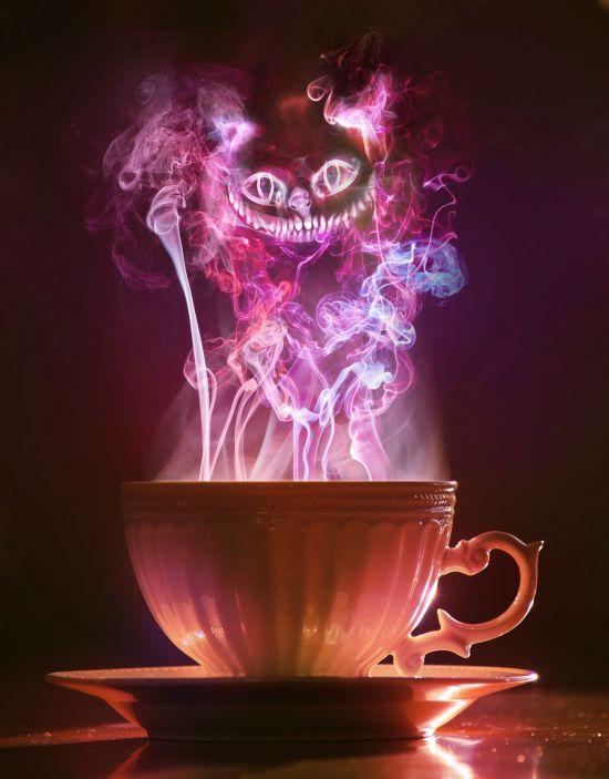 Cheshire cat steam