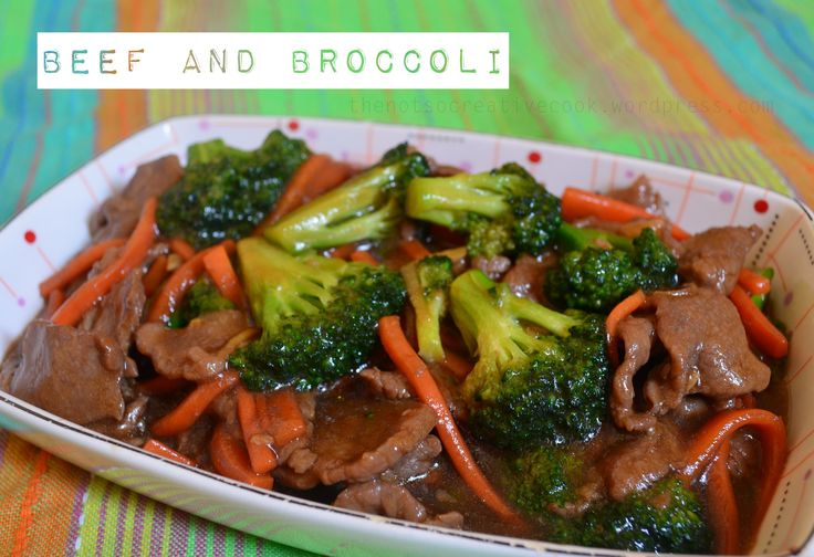 When I go to a Chinese fast-food or restaurant, Beef and Broccoli is one of my orders. I usually order Orange Chicken or Sweet and Sour Chicken, Beef and Broccoli and fried rice - same order every ...
