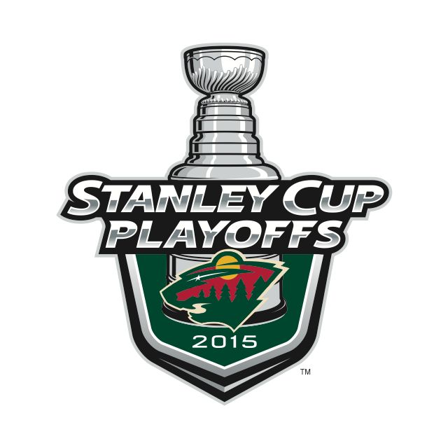 Minnesota Wild - 2015 Stanley Cup Playoffs logo I hope this will happen too