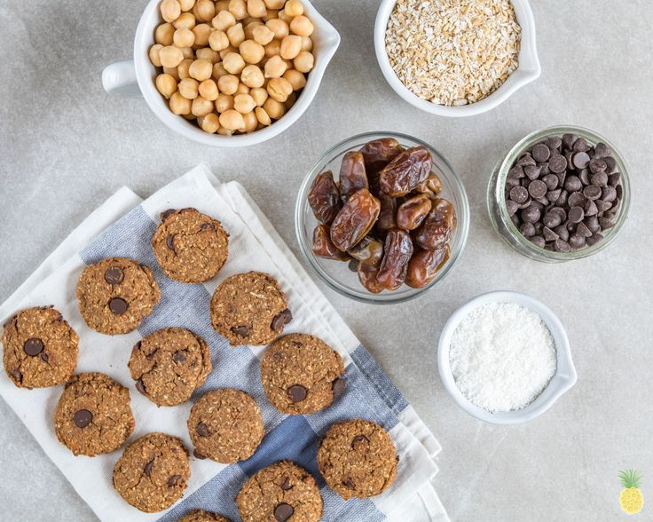 Chocolate Chip Cookies With Chickpeas By Jessica Seinfeld