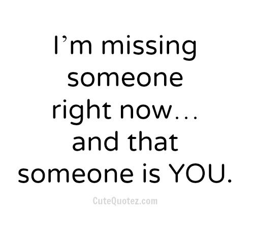 Cute Missing You Quotes Tumblr