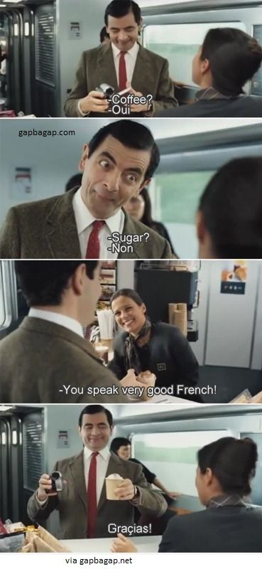 Funny Pictures Of Mr. Bean vs French