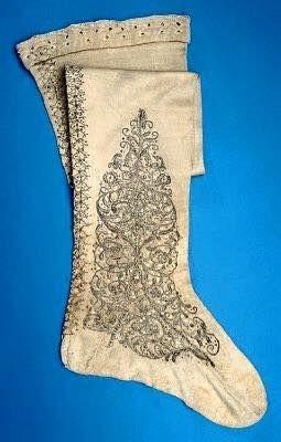 Fashion and Costume History     – Silk stockings belonging to Gustav II Adolf of...
