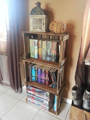 Bücherregal aus weinkisten  58 besten Home sweet home... Bilder auf Pinterest | Traumhaus ...