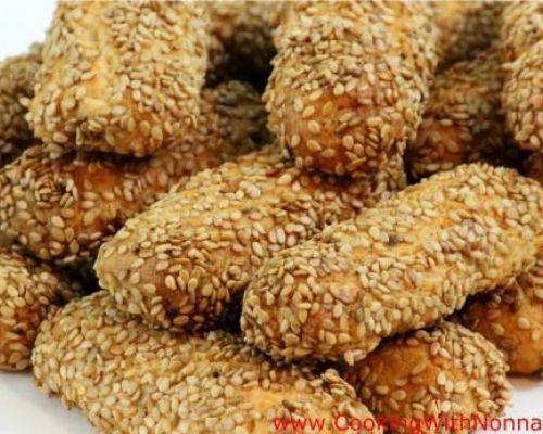 Sesame Seed Cookies - Biscotti Regina
