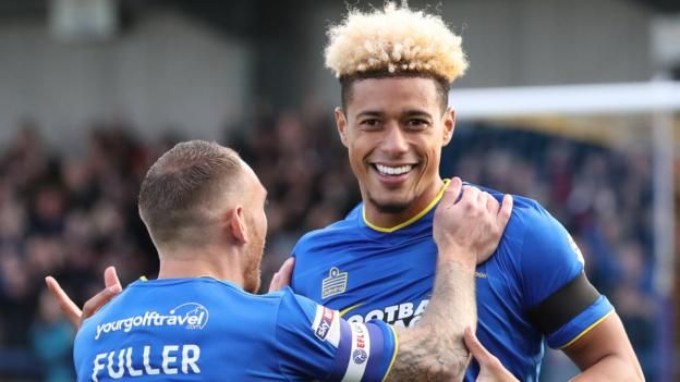 AFC Wimbledon 2-2 Peterborough United      Cody McDonald's first league goal for AFC Wimbledon earns a draw for the League One strugglers against Peterborough. http://www.bbc.co.uk/sport/football/41874397