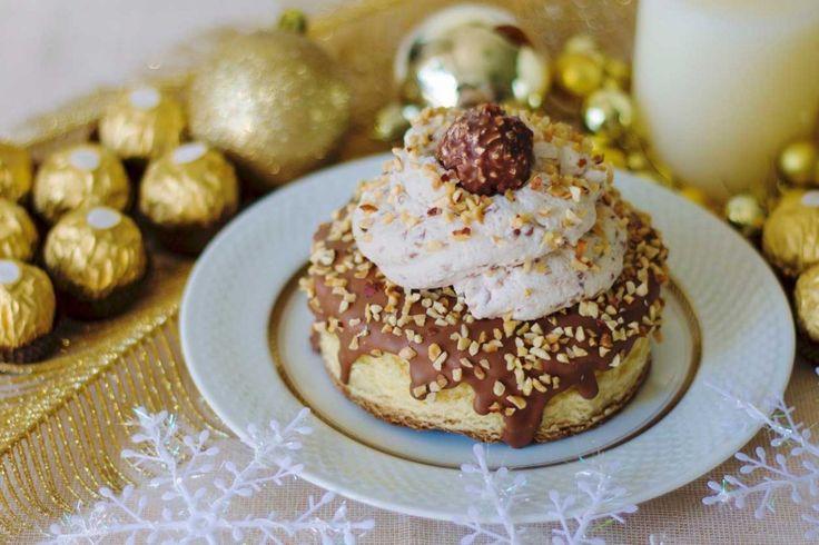 Il PANDORO ROCHER è un dolce natalizio nuovo, facile e veloce per sorprendere tutti, grandi e piccoli. Buon appetito da basticook.