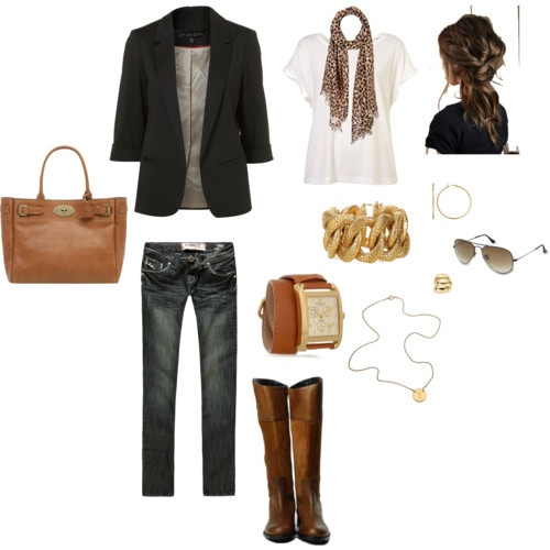 fallFall Clothes, Blazer Outfits, Style, Clothing, Blazer Jeans, Fall Outfits, Fall Fashion, Black Blazer Outfit With Jeans, Black Blazers