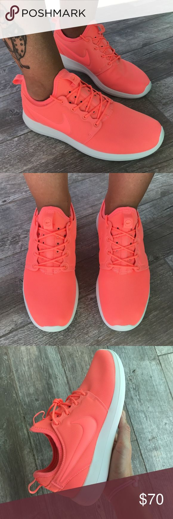 Coral Love ❤️ Nike sneakers new Coral Love ❤️ Nike sneakers New Nike Shoes Sneakers