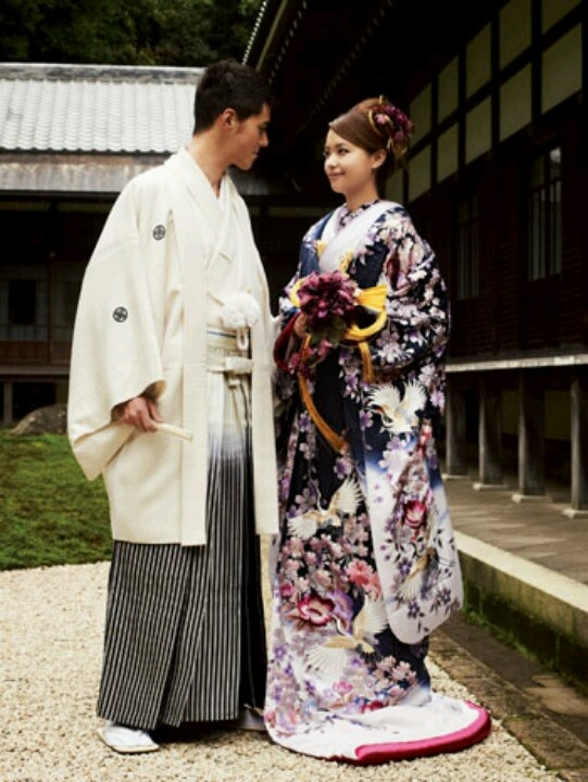 Japanese kimono weddings.