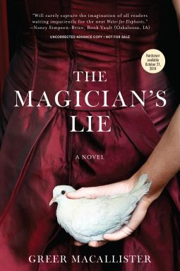 Water For Elephants meets The Night Circus (apparently) in new novel The Magician's Lie. Here's my review...