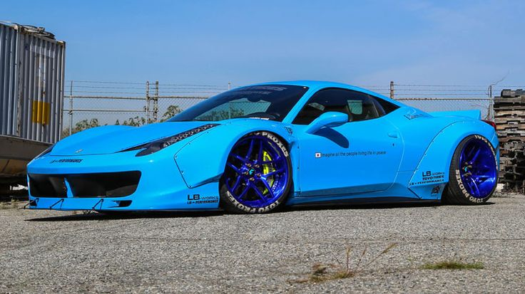 Liberty Walk Widebody Ferrari 458 Italia - Rides Magazine