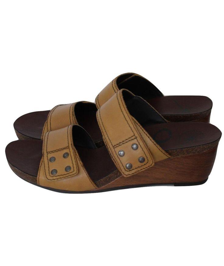 BITTER & SWEET Women's Comfort Sandals Beige in Size 39 wRt8S