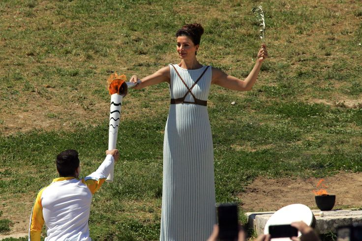 Olympic Flame / From Greece to Rio Brazil 2016