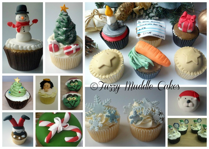 Christmas Cupcake collection