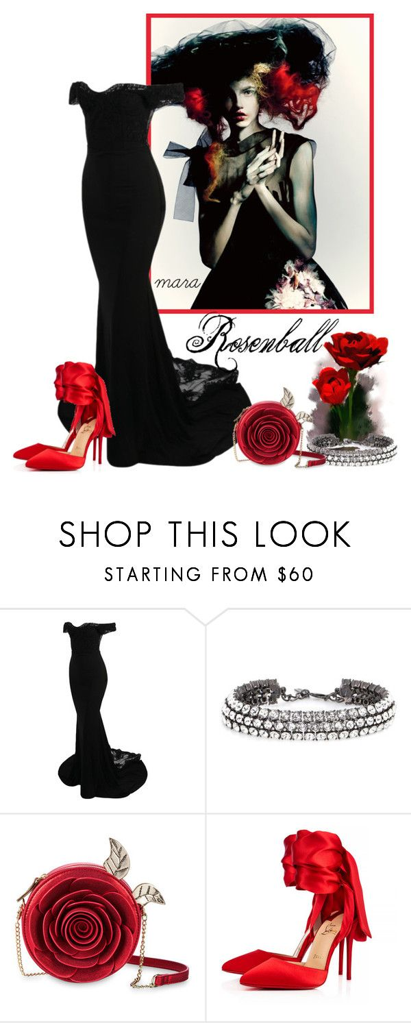 """Ready to go.... :-)"" by marastyle ❤ liked on Polyvore featuring Oscar de la Renta, Danielle Nicole and Christian Louboutin"