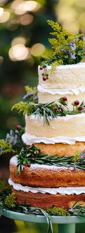 French countryside wedding cake