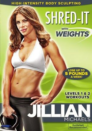 Jillian Michaels: Shred-It With Weights - Top 10 Best Lose-Weight Workout DVDs For Women In 2016 Reviews