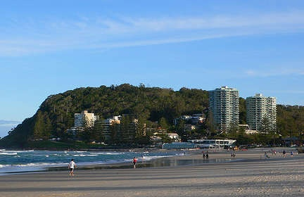 Burleigh Heads, my favourite part of the Gold Coast
