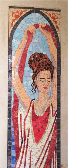 BAÑOS de PISCINA de HOTEL | Taller Mosaik