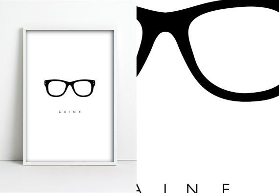 My name is....Michael Caine. by jpappleton on Etsy