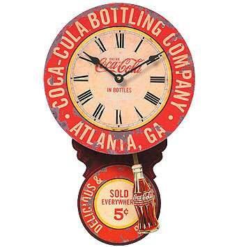 Coca Cola Bottling Company Parlor Clock