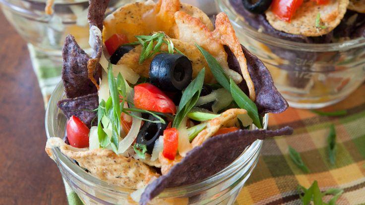 Nachos Supremo & Hot Cheesy Salsa Dip