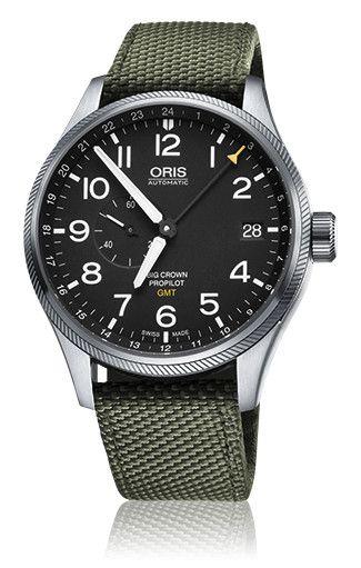 01 748 7710 4164-07 5 22 14FC - Oris Big Crown ProPilot スモールセコンド GMT - Oris Big Crown ProPilot - アヴィエイション - コレクション - オリス-真のスイス製機械式時計