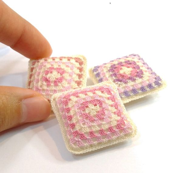 255 Best Images About Miniature Crochet For Dollhouse On