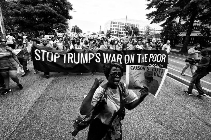 Trump's unjust budget cuts more than $7 billion from essential housing programs, while giving billions of dollars in tax breaks to Wall Street. Demand that Secretary of HUD Ben Carson stop these cuts to HUD, and instead call for full funding of federal housing programs.