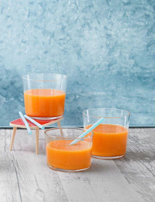 """""""Bleib gesund""""-Smoothie mit Karotten, Apfel und Ingwer"""