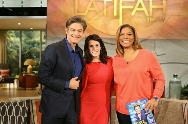 Dr Oz. ,Wife Lisa on Queen Latifah show
