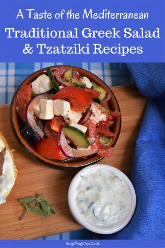 I tend to cook a lot of Mediterranean style food, it's delicious, fairly healthy and my husband is half Armenian, so it's good to recreate some of his favourites too. Greek salad is so easy to throw together and it's one of our favourite salads, plus it tends to keep quite well – no wilted leftovers the next day!